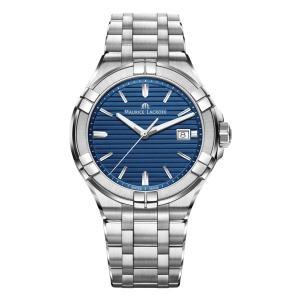 正規品 MAURICE LACROIX モーリスラクロア アイコン デイト 42mm クォーツ メンズ腕時計 AI1008-SS002-431-1|quelleheure-1