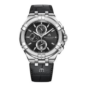 正規品 MAURICE LACROIX モーリスラクロア アイコン クロノグラフ 44mm クォーツ メンズ腕時計 AI1018-SS001-330-1 【MIO】|quelleheure-1