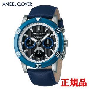 正規品 ANGEL CLOVER エンジェルクローバー Brio メンズ腕時計 クォーツ クロノグラフ 送料無料 BR43BUBK-NV quelleheure-1