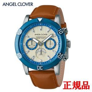 正規品 ANGEL CLOVER エンジェルクローバー Brio メンズ腕時計 クォーツ クロノグラフ 送料無料 BR43BUIV-LB quelleheure-1