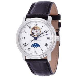 国内正規品 FREDERIQUE CONSTANT フレデリックコンスタント クラシック ムーンフェイズ ハートビート 自動巻き メンズ腕時計 FC-335MC4P6 quelleheure-1