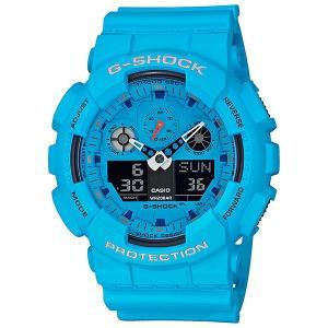 国内正規品 CASIO カシオ G-SHOCK メンズ腕時計 GA-100RS-2AJF  |quelleheure-1