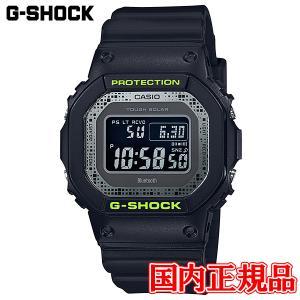 国内正規品 CASIO カシオ G-SHOCK Black and Yellow Series タフソーラー ソーラー充電システム メンズ腕時計 GW-B5600DC-1JF|quelleheure-1