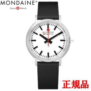 正規品 MONDAINE モンディーン クォーツ stop2go 2017 ブラック メンズ腕時計 送料無料 MST4101BLB|quelleheure-1