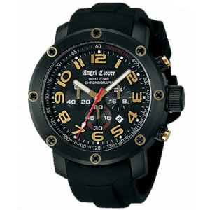 NES46BBG-BK Angel Clover [ エンジェルクローバー ] メンズ腕時計 エイトスター 【送料無料】   quelleheure-1