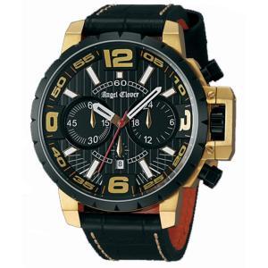 NTC48YBK-BK Angel Clover [ エンジェルクローバー ] メンズ腕時計 タイムクラフト  【送料無料】   quelleheure-1