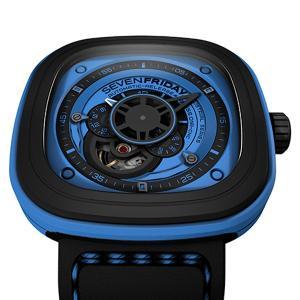 SF-P1/04 SEVENFRIDAY セブンフライデー Blue メンズ腕時計 国内正規品 送料無料  |quelleheure-1