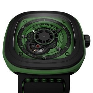 SF-P1/05 SEVENFRIDAY セブンフライデー Green メンズ腕時計 国内正規品 送料無料  |quelleheure-1