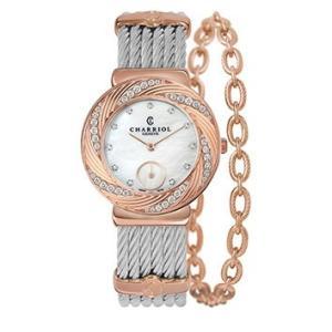 ST30FPD.560.023 CHARRIOL シャリオール ST-TROPEZ Sunray レディース腕時計 国内正規品 送料無料  |quelleheure-1