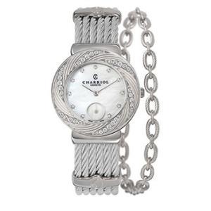 ST30FSD.560.016 CHARRIOL シャリオール ST-TROPEZ Sunray レディース腕時計 国内正規品 送料無料  |quelleheure-1