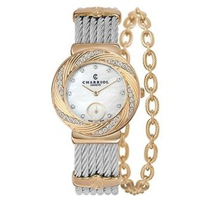 ST30FYD.560.022 CHARRIOL シャリオール ST-TROPEZ Sunray レディース腕時計 国内正規品 送料無料  |quelleheure-1