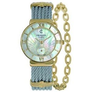 ST30YI.560.009 CHARRIOL シャリオール ST-TROPEZ 30 レディース腕時計 国内正規品 送料無料  |quelleheure-1