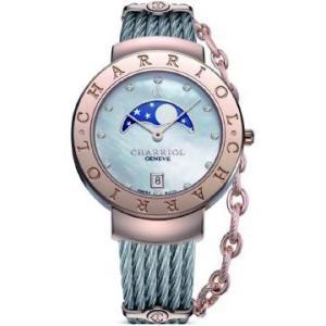 ST35CP.560.010 CHARRIOL シャリオール ST-TROPEZ 35 レディース腕時計 国内正規品 送料無料  |quelleheure-1