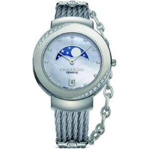 ST35SD1.560.008 CHARRIOL シャリオール ST-TROPEZ 35 レディース腕時計 国内正規品 送料無料  |quelleheure-1