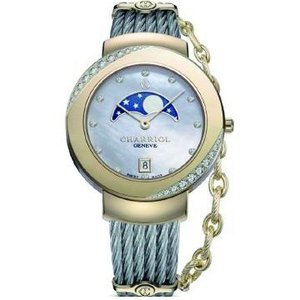 ST35YD1.560.009 CHARRIOL シャリオール ST-TROPEZ 35 レディース腕時計 国内正規品 送料無料  |quelleheure-1