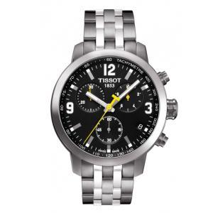 正規品 TISSOT ティソ PRC 200 クロノグラフ メンズ腕時計 クォーツ T055.417.11.057.00   quelleheure-1