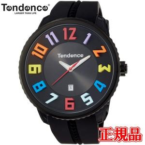 正規品 TENDENCE テンデンス ガリバーラウンド レインボー クォーツ メンズ 腕時計 TY430610 【AQ】|quelleheure-1