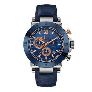 24回払いまで無金利 X90013G7S Gc ジーシー Papaya&Blue メンズ腕時計 国内正規品 送料無料  |quelleheure-1
