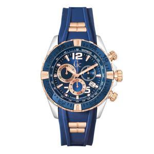 24回払いまで無金利 Y02009G7 Gc ジーシー Papaya&Blue メンズ腕時計 国内正規品 送料無料  |quelleheure-1