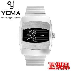 【予約販売】 正規品 YEMA イエマ ディジディスク ブラック 自動巻き 腕時計 YDGD2020-AM|quelleheure-1