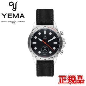 正規品 YEMA イエマ スペースグラフ ZERO-G スティールブラック クォーツ メンズ腕時計 送料無料 YMHF2019-AA|quelleheure-1