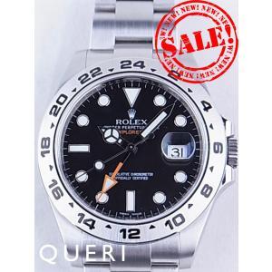 ロレックス エクスプローラーII 黒文字盤 216570を最安値販売価格に挑戦中 中古最安!|queri