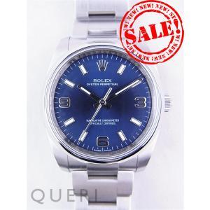 ロレックス 114200 オイスター パーペチュアル ブルー...