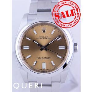 ロレックスオイスターパーペチュアルPIV日本正規116000(WHグレープ/WHバー)中古美品|queri