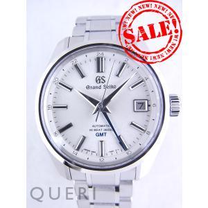 グランドセイコー 9Sメカニカルハイビート 36000 GMT ホワイト文字盤SBGJ201(9S86-00A0)新品|queri
