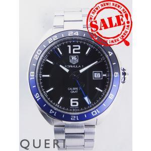 タグホイヤー フォーミュラ1 キャリバー7 GMT 青黒ベゼルWAZ211A.BA0875未使用|queri