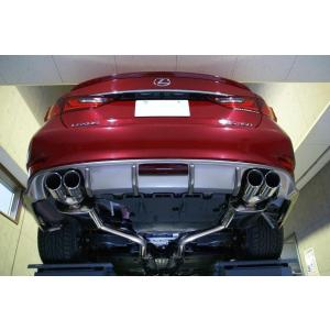 L:exhaustマフラー QUAD GS450h チタン|questpower