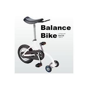 ●BALANCE BIKE(バランスバイク バラバイ) ホワイト●|quick-mart