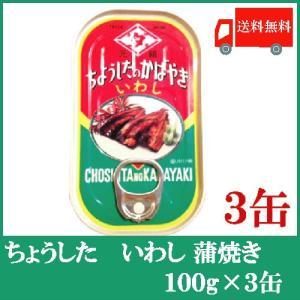 送料無料 ちょうした いわしの蒲焼 100g × 3缶 quickfactory