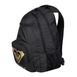 丸いシルエットに、フロントに大きく入ったブランドロゴがポイントのバックパック。上下にポケット付きで、...