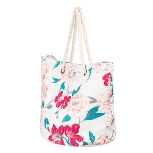 艶やかなフラワープリントがシーズンムードを盛り上げるトートバッグです。軽やかなペーパー素材を使用して...