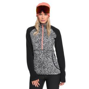 セール SALE ロキシー ROXY  テクニカル ハーフジップ フリース CASCADE Womens スキー スノボ ウィンタースポーツ QUIKSILVER ONLINE STORE