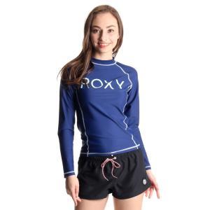 ロキシー(ROXY)レディースRASHIEL/S水着長袖ラッシュガード紫外線防止UVカットRLY171037NVY