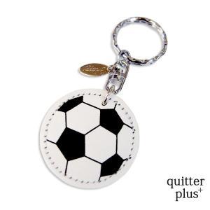 Happy サッカーボールキーホルダー  お祝い プレゼント|quitter