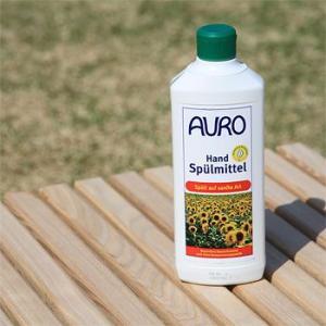 【あすつく対象】手荒れでお悩みの方、使ってみて下さい。<br> AURO(アウロ) No.453 天然食器用洗剤 500mボトル 3本セット|quofirm|06