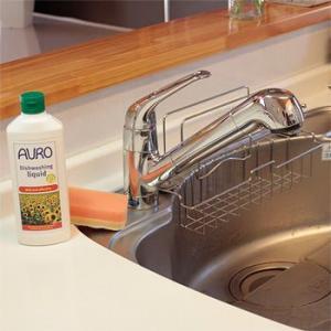 【送料無料・あすつく対象】手荒れでお悩みの方、使ってみて下さい。<br> AURO(アウロ) No.453 天然食器用洗剤 500mボトル 6本セット|quofirm|05