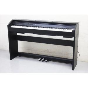 A3922YO 【美品】電子ピアノ カシオ PX-750 14年製 CASIO Privia プリヴィア 88鍵盤 ブラックウッド調 譜面立て付属音楽鍵盤楽器デジタルピアノ即決