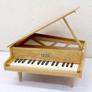 E4838YO 【美品】 カワイ ミニピアノ  グランドピアノ型 32鍵盤 楽器玩具 鍵盤楽器 ナチュラル 木目おもちゃ 即決|r-1recycle