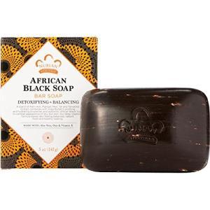 NUBIAN HERITAGE ヌビアンヘリテージ アフリカンブラックソープ 141g シアバター 並行輸入品|r-ainet