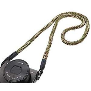 INPON カメラストラップ パラコード編み ネックストラップ ショルダーストラップ 丸リング/リングカバー付き 一眼レフ/ミラーレスカメラ r-ainet