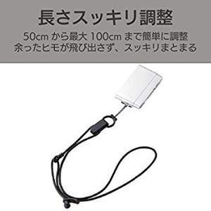 エレコム デジカメ用 ネックストラップ コンパクト L ブラック DGS-010BK r-ainet