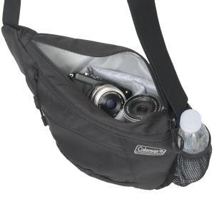 エツミ&Coleman コールマンカメラショルダーバッグ 2L CO-8700 ブラック r-ainet