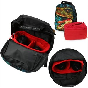 Koolertron 一眼レフ対応 インナーカメラバッグ「そのままバッグに入れられる」インナーバッグ/インナーケース 自由に調節可能な間仕切 r-ainet