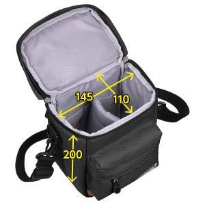 OUTDOOR PRODUCTS (アウトドアプロダクツ) カメラバッグ カメラショルダーバッグ04 ブラック ODCSB04BK r-ainet