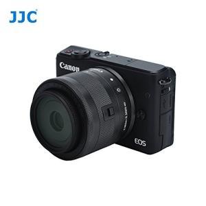 キヤノン EF-M 28mm f/3.5 Macro 対応レンズフード ブラック (JJC LH-2...