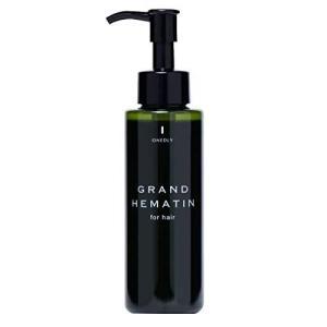 髪の美容液 グラン ヘマチン 120ml (ヘマチン100% 原料 ヘアトリートメント 髪 ヘアエッセンス ハリ コシ) ワンドリー r-ainet